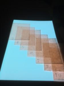 手すき楮紙【月の影】