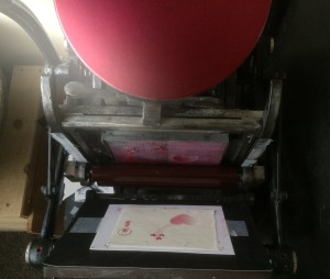 活版印刷・テキンイメージ